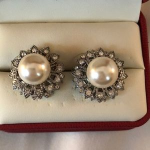 Jewelry - ⚡️SALE MUST GO⚡️ Pearl Starburst Earrings